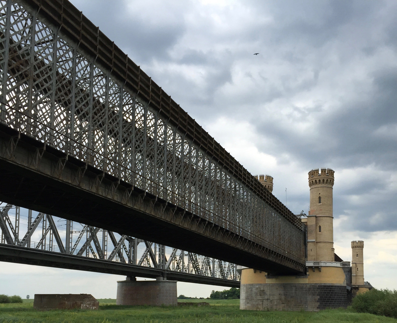 zabezpieczenie antykorozyjne - zabytkowy most w Tczewie